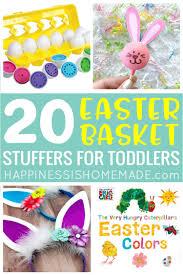 20 easter basket stuffer ideas for