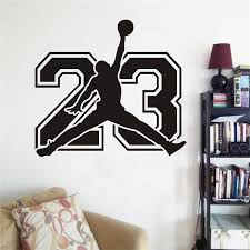 New Michael Jordan Family Wall Stickers Mural Art Home Decor For Kids Room Decoration Vinyl Wall Decals Buy At The Price Of 1 75 In Aliexpress Com Imall Com