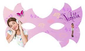 Mascara De Violetta Para Imprimir Gratis Ideas Y Material