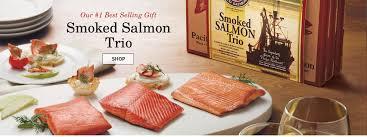 smoked wild salmon trio gift box