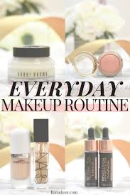 everyday makeup routine liana desu