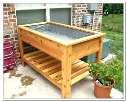 diy raised garden boxes icytiny co