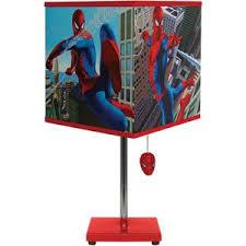 Spider Man Table Lamp Spiderman Room Spiderman Lamp Superhero Room