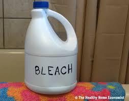 bleach bath warning for chronic skin