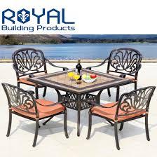china outdoor furniture cast aluminum