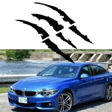 Claw Decal Headlight Scratch Decals For Car Toqueglamour