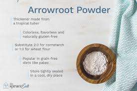 what arrowroot powder is and how it s