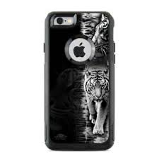 Skin For Otterbox Commuter Iphone 6 6s White Tiger Sticker Decal Ebay