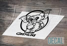 Gremlins Decal Gizmo Decal Car Decal Tumbler Decal Mug Etsy