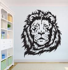 Lion Beautiful Lion Wall Decal African Wild Lion Pride Etsy