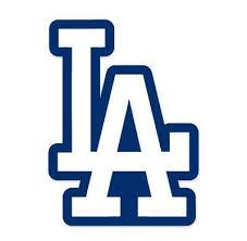 La Logo Los Angeles Dodgers Mlb Vinyl Decal Sticker For Wall Room Car Mymonkeysticker Com