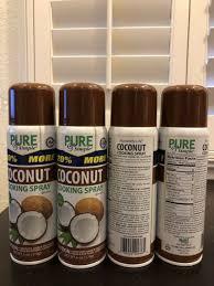 coconut oil cooking spray non stick 4