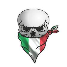 Dawasaru Pirate Skull With Face Bandana Italy Flag Car Sticker Waterproof Decal Laptop Motorcycle Auto Accessories Pvc 13cm 8cm Car Stickers Aliexpress