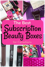 subscription beauty bo for canadians