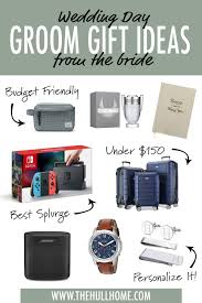wedding day gifts for groom 10 gift