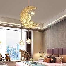 Nclon Modern Creative Pendant Lamp Shade Led Metal Pendant Light Bedroom Kids Room Living Room Including Bulbs 30x60cm 25w White Light Amazon Com