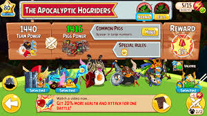The Apocalyptic Hogriders | Angry Birds Wiki