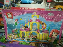 Lego mô hình lâu đài dưới nước của nàng tiên cá Ariel ⋆ Đồ chơi ...
