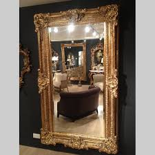 vintage french baroque gold mirror