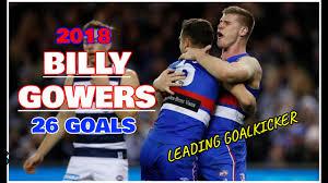 2018 Goalscorers | Billy Gowers | All 26 Goals | Western Bulldogs AFL -  YouTube