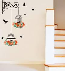 New Birdcage Flower Flying For Living Room Nursery Room Wall Stickers Vinyl Wall Decals Wall Sticker For Kids Room Home Decor Ani 203 Decorative Decal Decorative Decals From Chinese Purchasing01 1 74 Dhgate Com