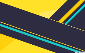 yellow black cyan wallpaper hd