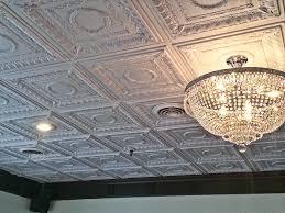 regal white ceiling tiles grid
