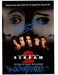 Amazon.com: Scream 2 CAST autographs ...