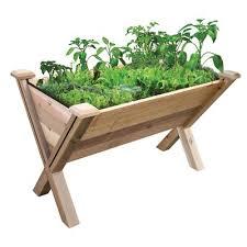 eco cedar raised garden gronomics
