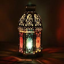 8 07in moroccan lanterns hanging candle