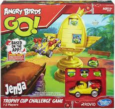 Angry Birds Go Trophy Cup Challenge Jenga Game Hasbro Gaming ...