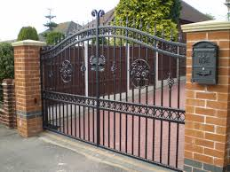 Types Of Driveway Gates Boston Ironworks Staircases Fences Fire Escapes