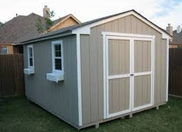16x16 large garden shed building