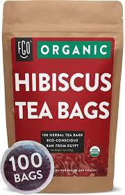 organic hibiscus tea bags 100 tea