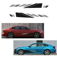 Shop 2pcs Set Suv Auto Door Side Vinyl Body Decal Racing Stripe Sticker Waterproof Online From Best Auxiliary Off Road Lights On Jd Com Global Site Joybuy Com