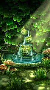 celtic garden 3d live wallpaper