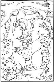 Kids N Fun Kleurplaat Bijbel Kerstverhaal De Herdertjes Lagen