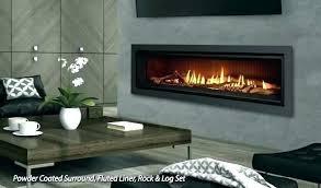 gas fireplace inserts modern ventless