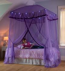 Sparkling Lights Canopy Bower For Kids Beds Size Twin To Queen Walmart Com Walmart Com