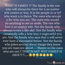 what is family the fam quotes writings by danial ali
