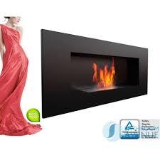 wall mounted bio fuel bioethanol fireplace