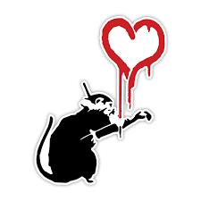 Laptop Decal Banksy Monkey Keep It Real Graffiti Wall Art Vinyl Sticker Window