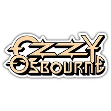 Sticker Ozzy Osbourne Logo Muraldecal Com