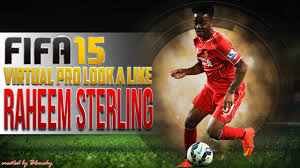FIFA15 VIRTUAL PRO LOOK A LIKE | RAHEEM STERLING w/ GAMEPLAY - YouTube