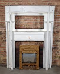 late 19th century painted white solid