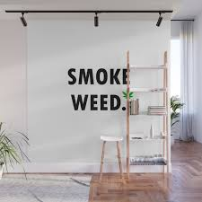 smoke weed stoner gift idea wall