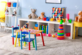 Vivid Kids Room With Toys Stock Photo Picture And Royalty Free Image Image 96044707