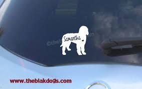 Labradoodle Goldendoodle Silhouette Vinyl Sticker Car Decal Etsy Custom Vinyl Stickers Silhouette Vinyl Vinyl Sticker