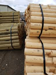 Midwest Fence Pine Post And Rail Fencing In Cody Wy