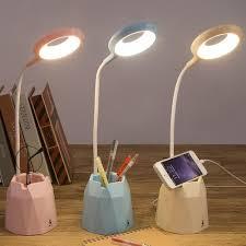 Shop bán Đèn bàn tích điện có giá để điện thoại sạc USB M36011 giá chỉ  79.000₫